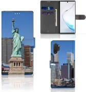 Samsung Galaxy Note 10 Plus Flip Cover Vrijheidsbeeld