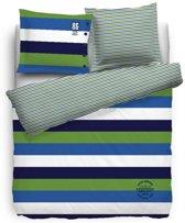 Cottonfield Legacy Dekbedovertrek - Litsjumeaux - 240x200/220 cm - Blauw/Groen