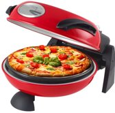 Beper 90.371, pizzaoven, rood