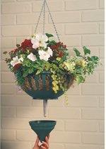 Hanging basket met waterreservoir - set van 4 stuks