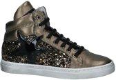 Bronzen Hoge Sneakers met Glitters Ciao Bimbi