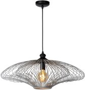 Lucide JELLA - Hanglamp - Ø 73 cm - E27 - Mat Grijs