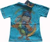 Blauw t-shirt van Mike de Ridder maat 116/122