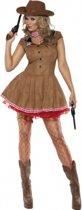 Sexy cowgirl kostuum voor dames 40-42 (m)