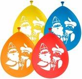 Sinterklaas - Sinterklaas en Pieten ballonnen 8 stuks