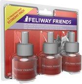 Feliway Friends Navulling - 3 x 48 ml