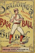 Spalding's Official Baseball Guide - 1919
