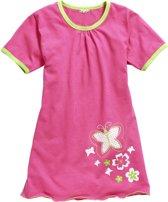 Playshoes pyjama nachtjapon vlinder roze   Maat 140