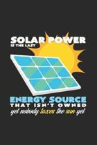 Solar Power: 6x9 Renewable Energyl - grid - squared paper - notebook - notes