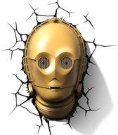 Star Wars 3D Decoratielamp C-3PO