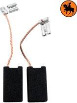 Koolborstelset voor Bosch zaag PKE 35 B  - 6,3x12,5x22mm