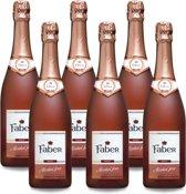 Faber Sparkling Rosé Alcoholvrij - 75 cl x6 (Doos)