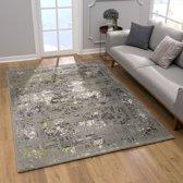 Laagpolig tapijt vintage vloerkleed Claude - 80x150 cm
