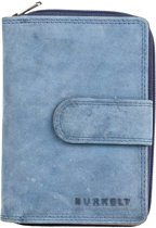 Burkely Stacey Star Wallet Loop 102570 Atlantic Blauw
