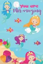 The Mermazing Mermaid Notebook
