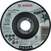 Doorslijpschijf gebogen Best for Inox - Rapido A 60 W INOX BF, 115 mm, 22,23 mm, 1,0 mm 1st