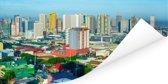 Kleurrijke gebouwen in Manila Poster 80x40 cm - Foto print op Poster (wanddecoratie woonkamer / slaapkamer) / Aziatische steden Poster