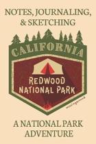 Notes Journaling & Sketching California Redwood National Park