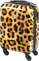 Princess Traveller Leopard Handbagage Koffer – 55 cm – 26 l. – Panter print