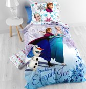 Disney Frozen Friendship - Dekbedovertrek - Eenpersoons - 140x200 cm - Multi
