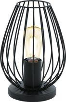 EGLO Newtown - Tafellamp - 1 Lichts - Ø160mm. - Zwart