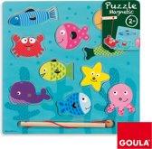 Goula Magneet Puzzel Vissen