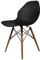 DS4U Beech flat - designstoel stoel - zwart