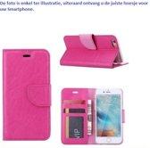 PaxxMobile Basixx Hoesje voor Samsung Galaxy A3 2016 A310 Boek Hoesje Book Case Pink