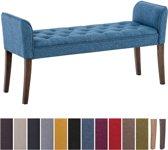 Clp Cleopatra - Chaise longue - Stof - blauw antiek donker