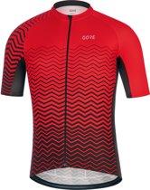GORE WEAR C3 Jersey Heren, red/black Maat L