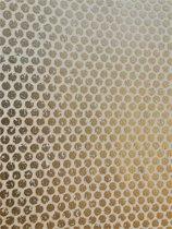 GOUDEN STIPPEN BEHANG - Goud Wit - AS Creation DESIGNDSCHUNGEL 2 by Laura Noltemeyer