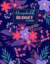 Household Budget Planner: Undated Planner for Budgeting - Personal Monthly Budget Planner - Financial Budget Tracker - Budget and Debt Planner