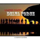 United States Delta Force Calendar 2017