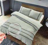 The Supreme Home Collection Laglio Zilver Grijs Maat: Lits-jumeaux (240 x 220 cm + 2 kussenslopen)