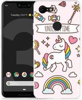 Google Pixel 3 Hoesje Unicorn Time