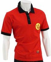 Fan Shirt Rode Duivels: Belgian Red Devils Polo Shirt - Rood, 12 jaar