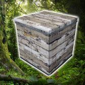Opbergbox / Opbergdoos Grijs (31 x 31 x 31 cm)