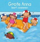 Prentenboek Grote anna leert zwemmen