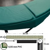 Trampoline Rand Magic Circle Pro 244 cm Groen