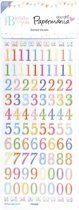 Domed Stickers - Happy Birthday To You (Numbers)