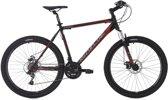 Ks Cycling Fiets 26 inch hardtail-mountainbike GTZ met 24 versnellingen zwartrood - 51 cm
