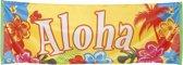 8 stuks: Banner - Aloha - 74x220cm