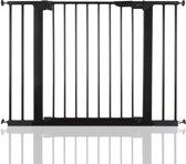 BabyDan Premier PLUS klemhekje met 4 spijlen 99-106,3cm - Zwart