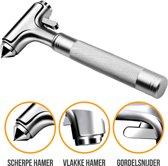 Veiligheidshamer Luxe   Lifehammer   Noodhamer Autoruit   Gordelsnijder   Autoruit kapot slaan