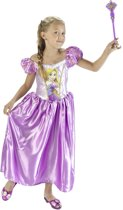 Prinsessenjurk Classic Rapunzel - Carnavalskleding - Maat L - Maat 134/146 - 9-11 jaar