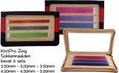 Knitpro Zing set sokkennaalden