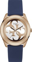 GUESS Watches -  W0911L6 -  horloge -  Vrouwen -  RVS - Blauw -  40  mm