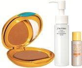 Shiseido Tanning Compact Foundation Gift Set 3 st.