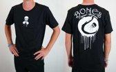 Bones Sportswear Heren T-shirt Drip Cotton maat XS