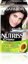 Garnier Nutrisse Crème 30 - Natuurlijk Donkerbruin - Haarverf